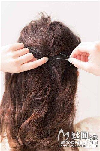 单股发辫的编法 增加你的立体感