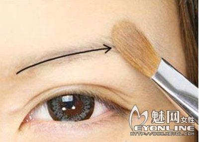 眉毛的画法图解 让你轻松学会画眉